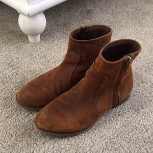 Real Leather booties size 7.5